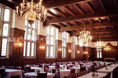 Calhoun's dining hall