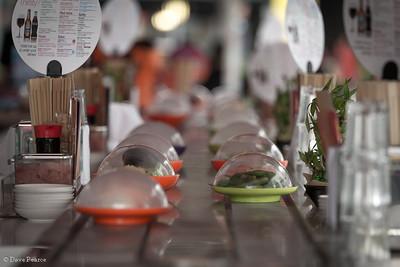 Sushi time.