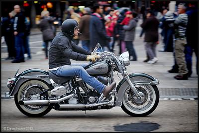 Harley man.