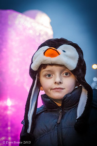 Sam at the Ice Sculpture festival