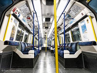 Multiple Verticals on the London Underground.