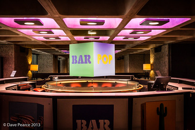 Pop Bar at the Barbican.