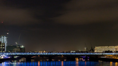 Blackfriars Railway Bridge.