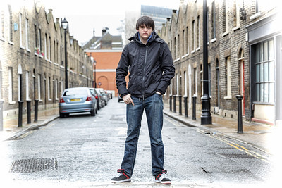 Jamie in Roupell street