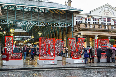 LOVE in Covent Garden.