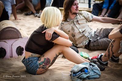 Girl with the tatoos