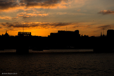 Waterloo (bridge) sunset