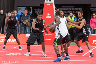 Free basketball festival in Trafalgar Square