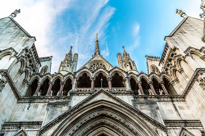 Royal Courts of Justice.