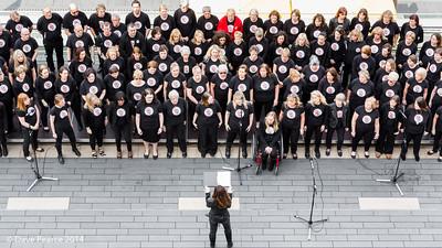 Voicerox Choir, Southbank.