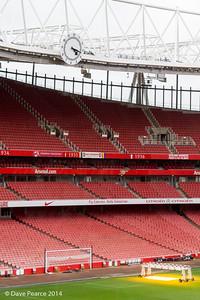 Emirates Stadium, London.