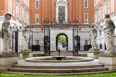 Courtyard at BMA House.