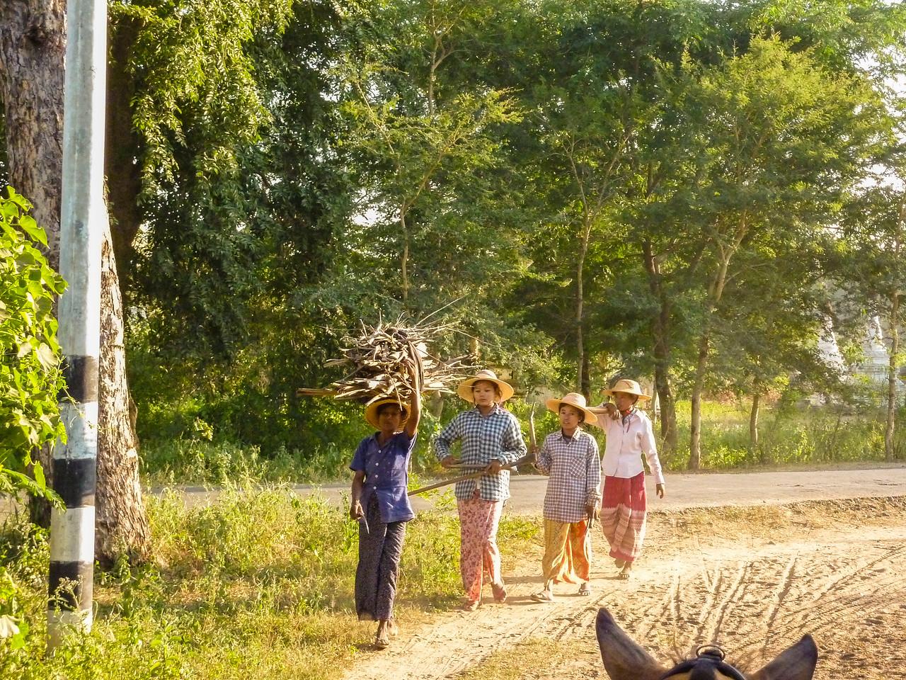 Sights in Bagan, Myanmar, 2009