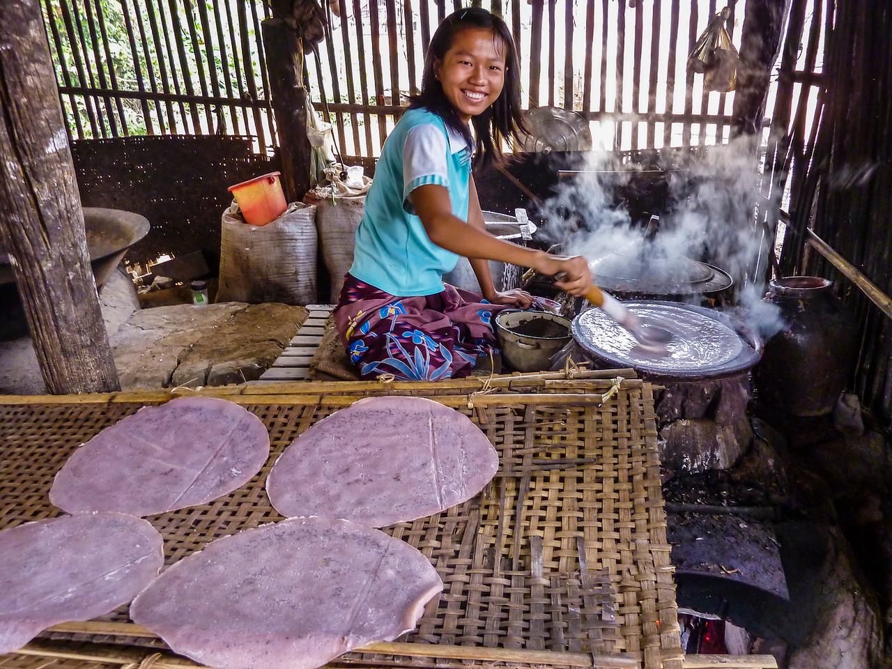 Our Boatman's Bean Village, Inle Lake, Myanmar