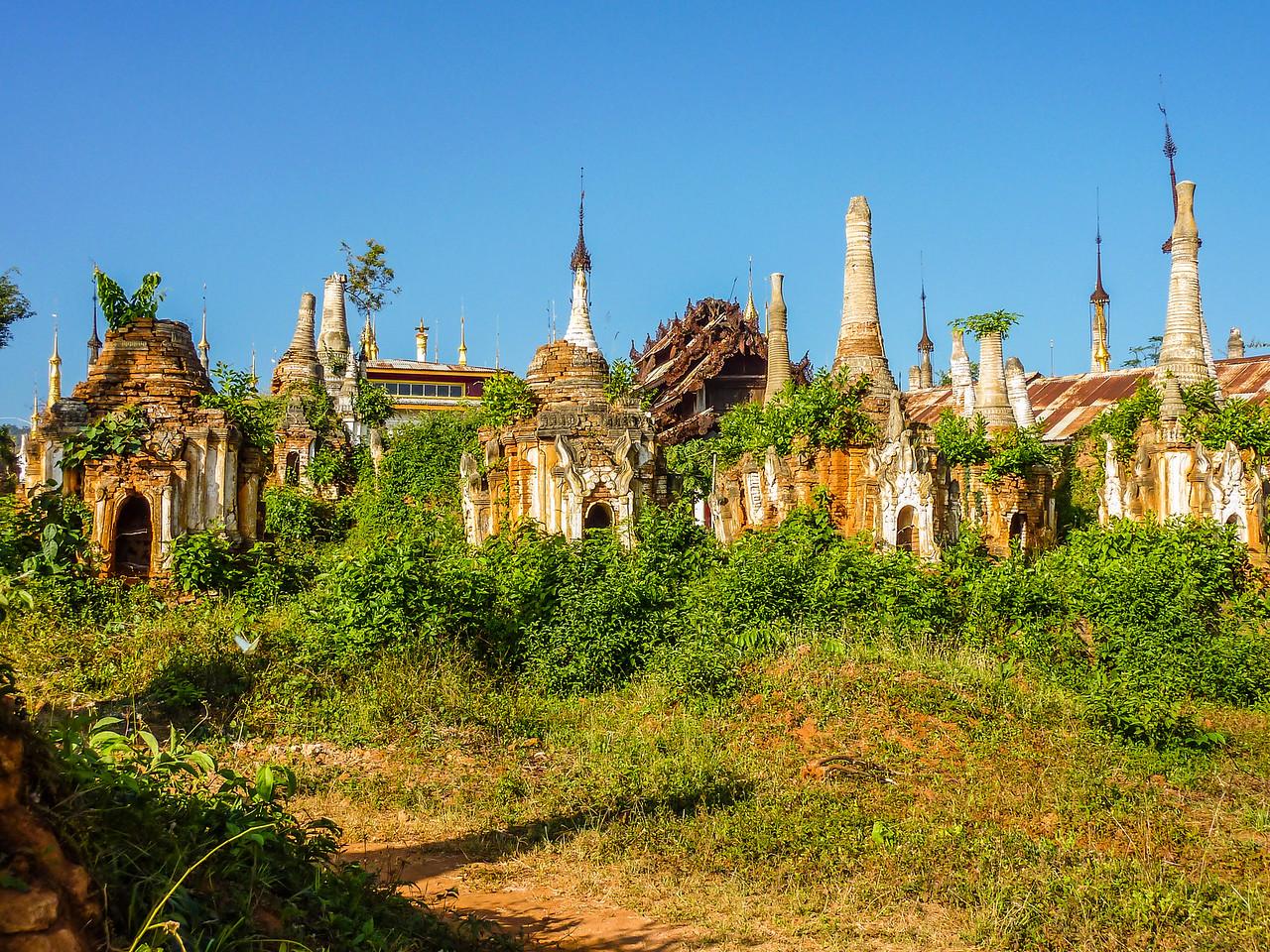Indein, Inle Lake, Myanmar