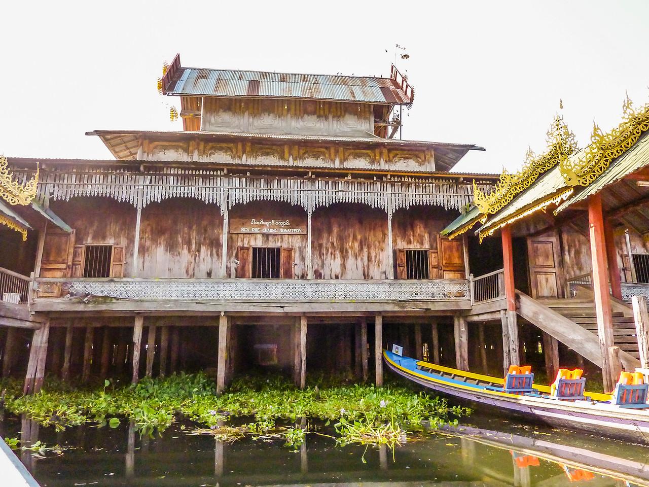 Nga Hpe Kyaung - Jumping Cat Monastery, Inle Lake, Myanmar