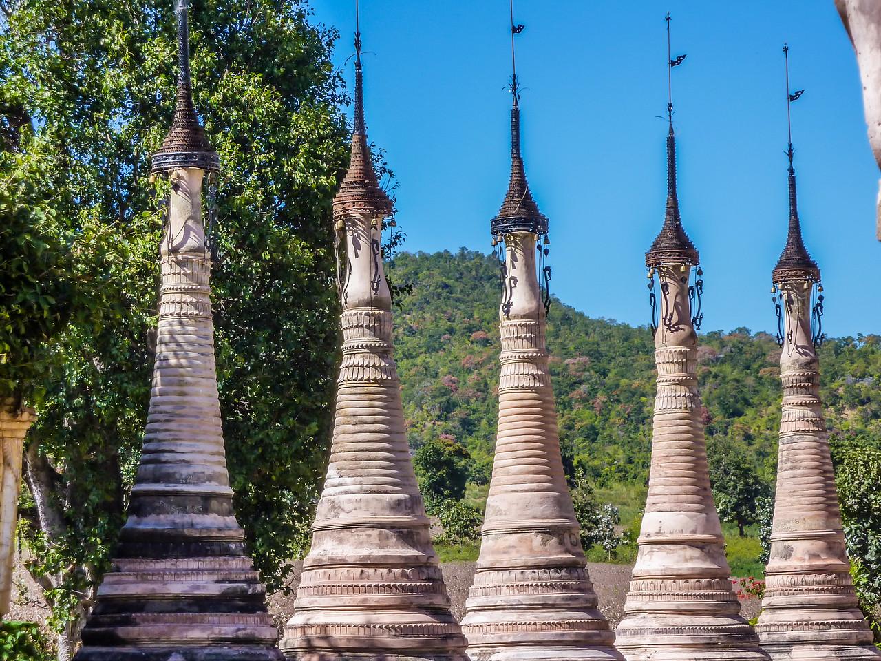 Takhaung Mwetaw Pagoda, Inle Lake, Myanmar