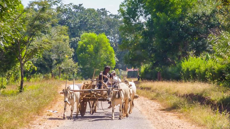 On the Road in Myanmar