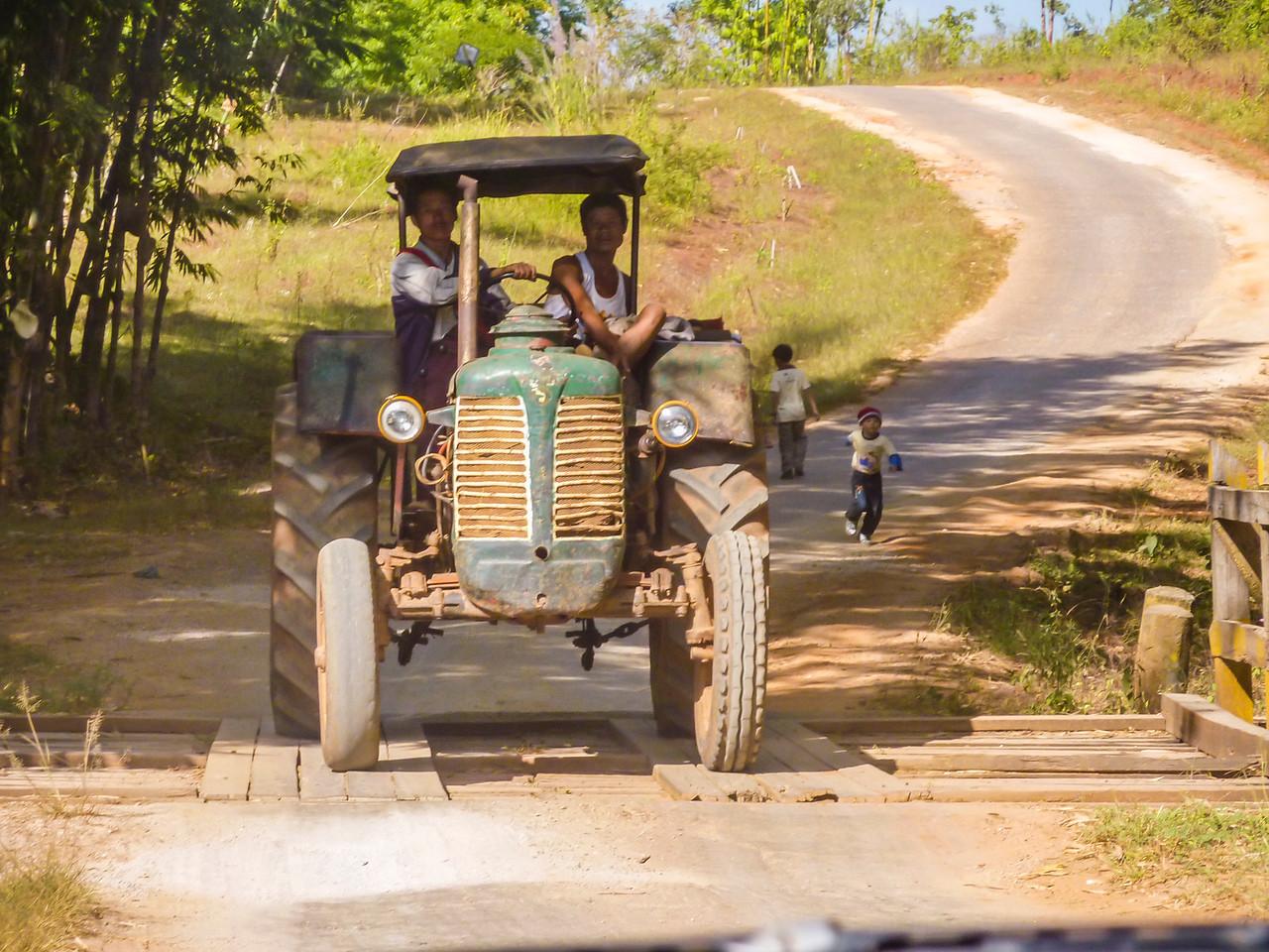 On the road in Myanmar 2009