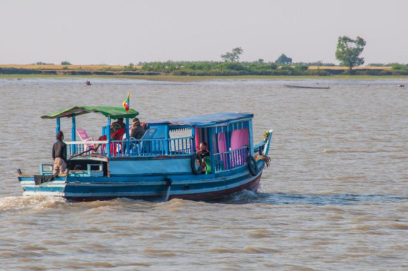 Myanmar 2011 - Mrauk U to Sittwe on the Princess boat