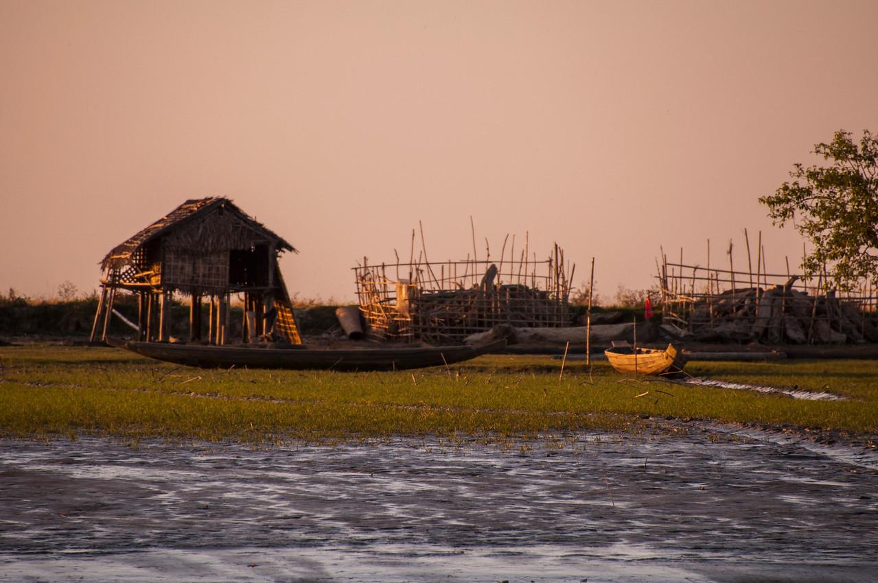Myanmar 2011 - Sittwe to Mrauk U on the Princess Boat
