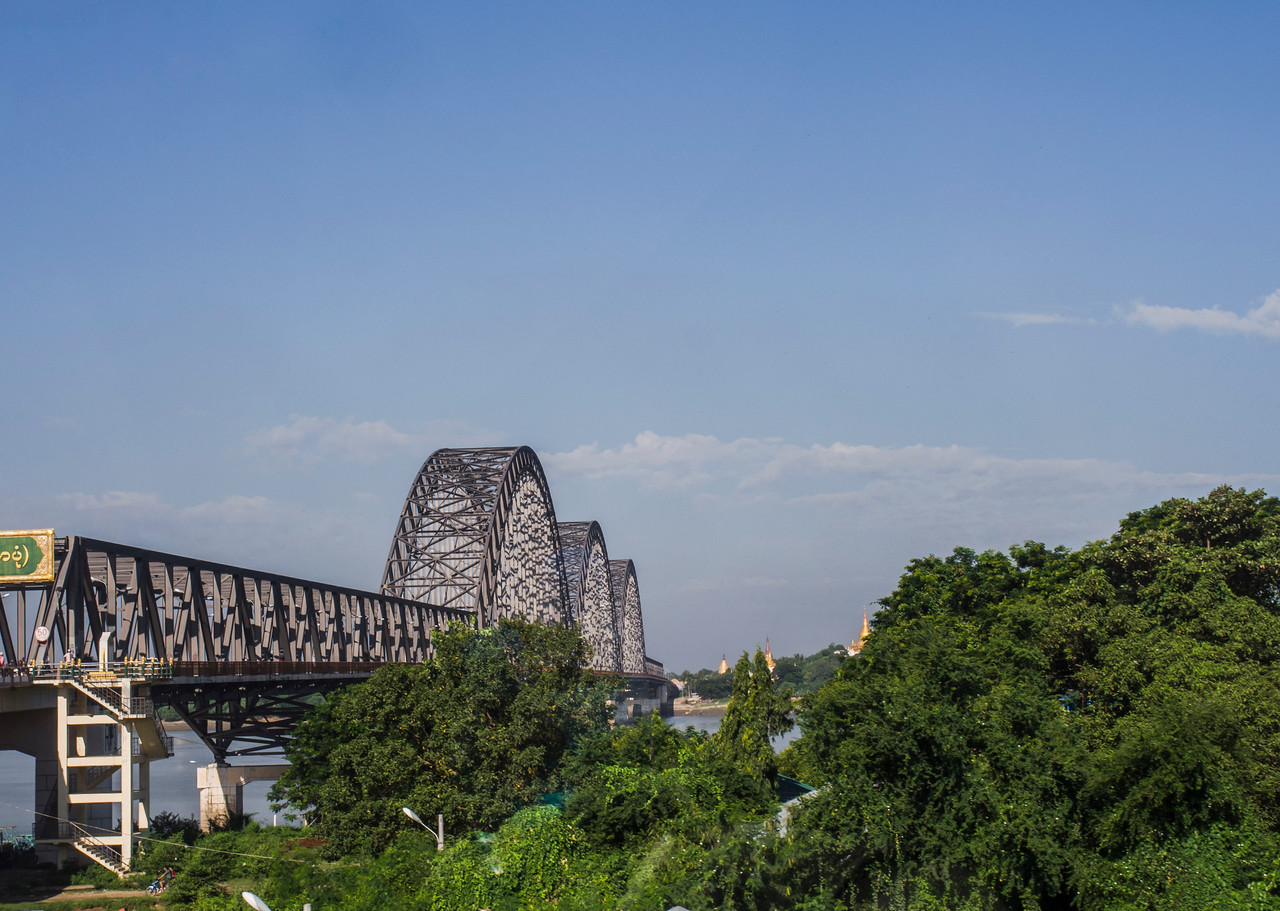 Sagaing Bridge, Mandalay
