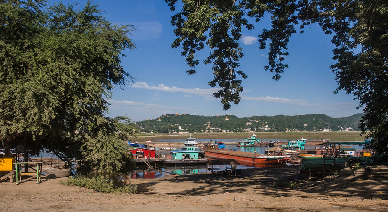 On the Irriwady (Ayeyarwady) River, Mandalay, Myanmar