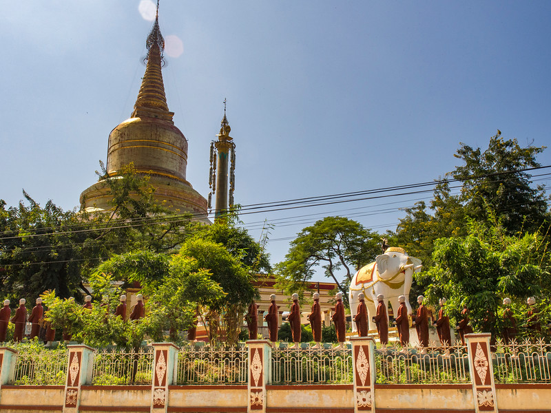 Buddhist pagoda, Mandalay