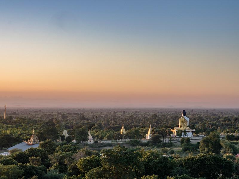 Bodhi Dataung (1000 Buddhas), Monywa, Myanmar