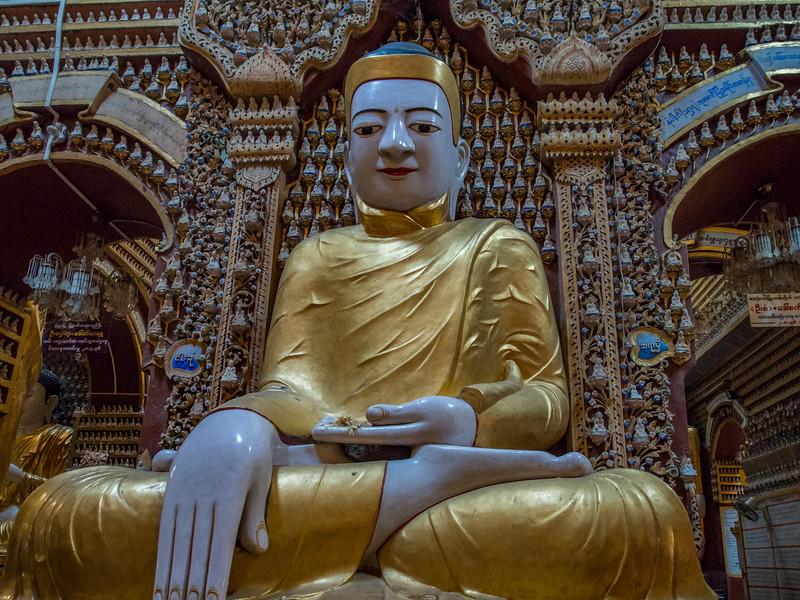 Mohniyin Sambuddha Pagoda, Monywa, Myanmar
