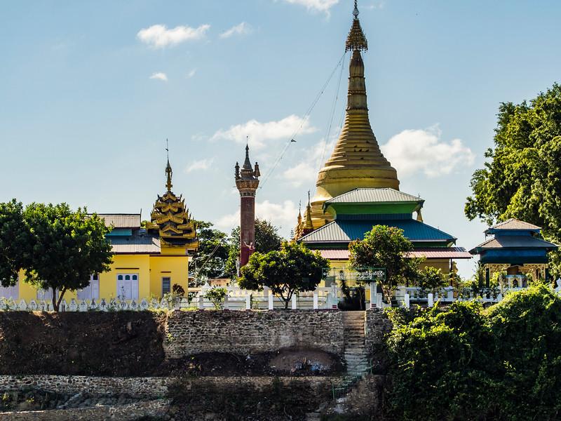 A temple near Kani, Myanmar