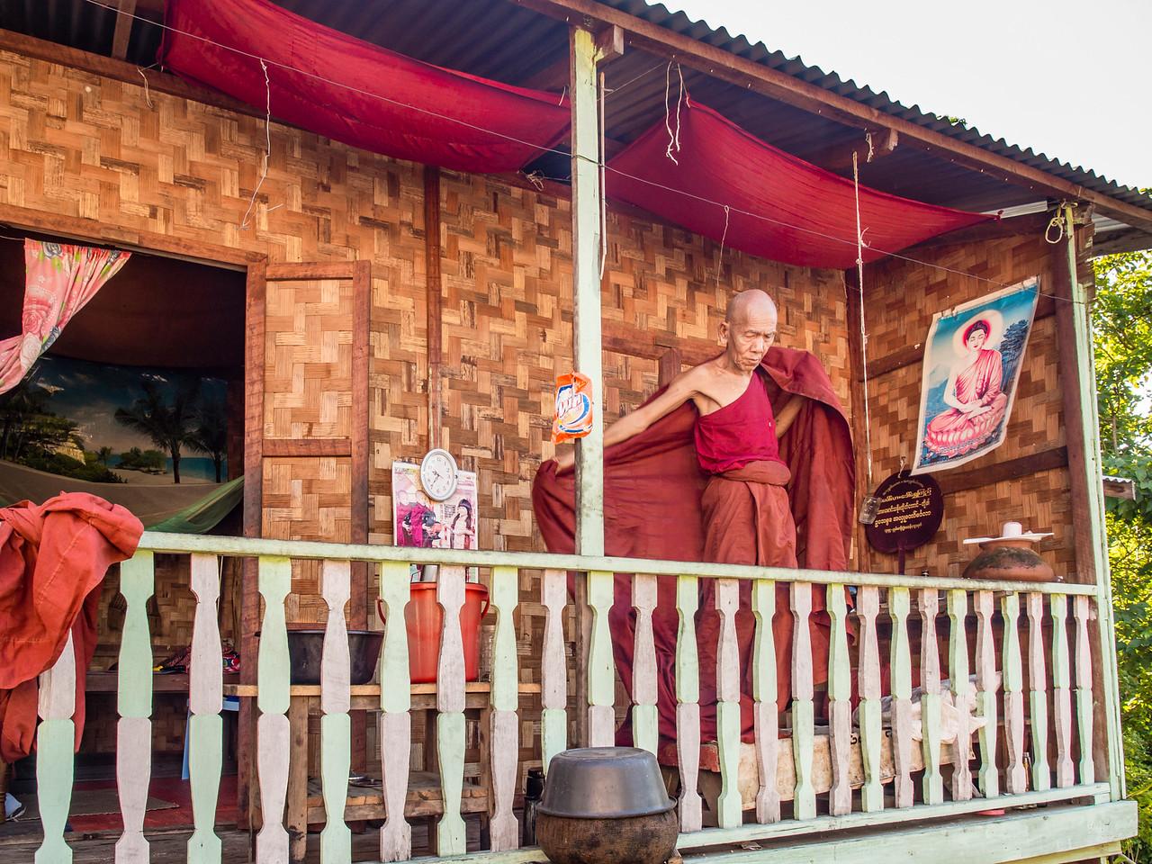 Kani, Myanmar on the Chindwin River
