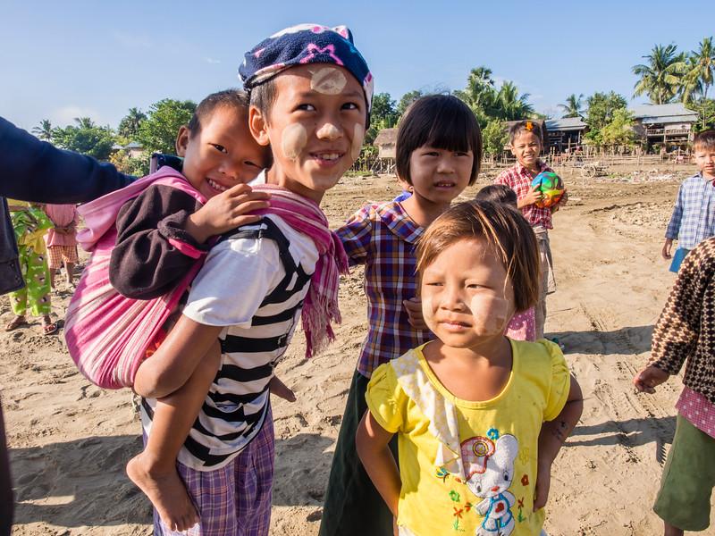 Kin village, Myanmar