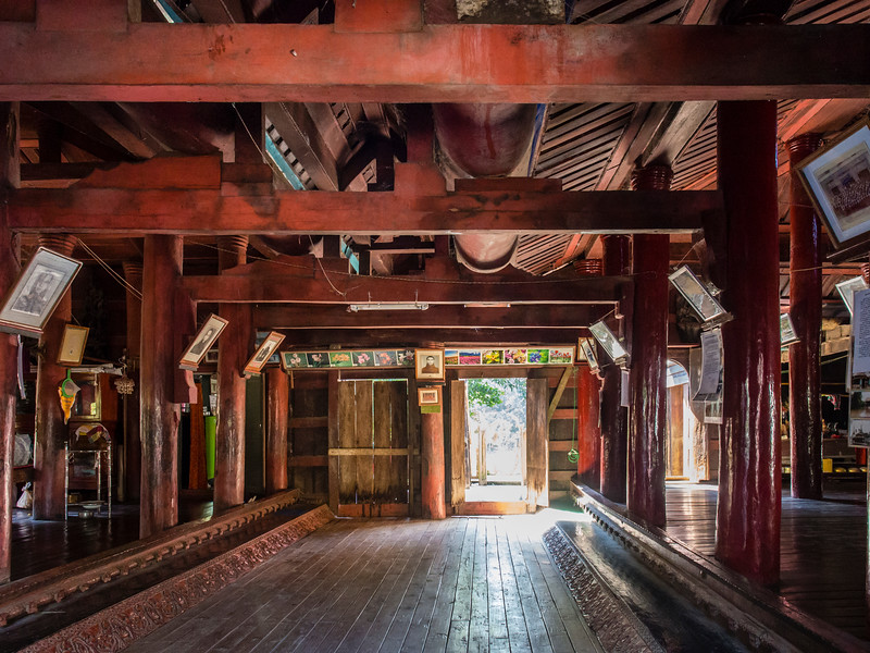 Min Kyaung Monastery, Kin village, Myanmar