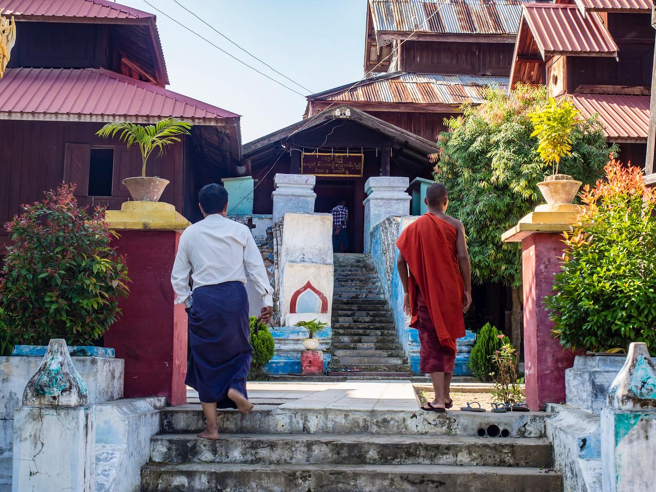 Kyindaung oo Kyaung at Minkin