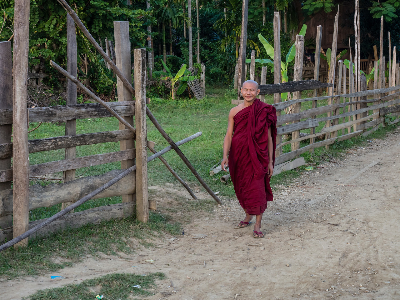 Youwa village, Chindwin River, Myanmar