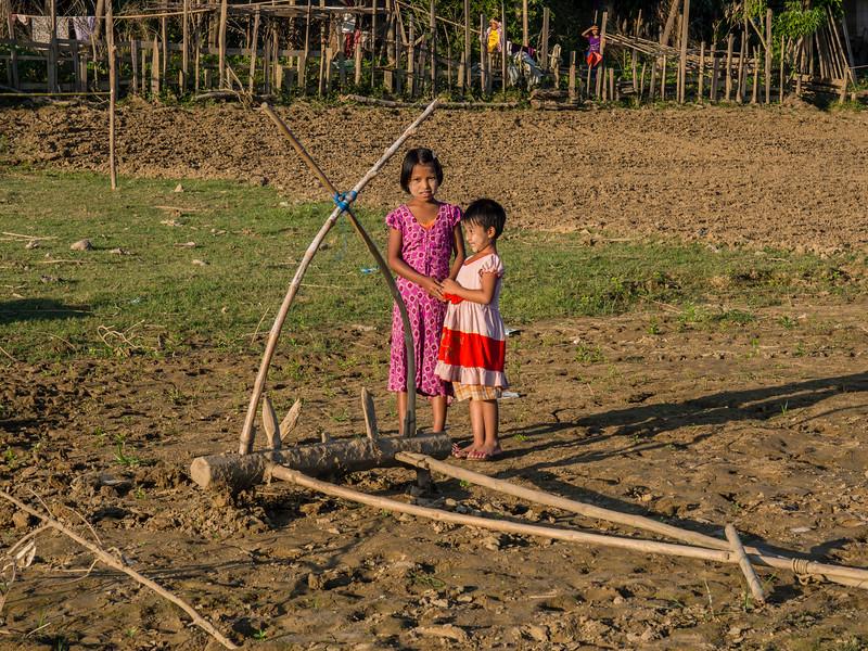 Youwa village, Chindwin River, Myanmar