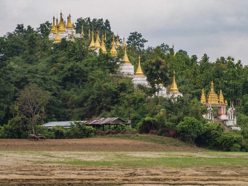 Pagodas on the Chindwin River