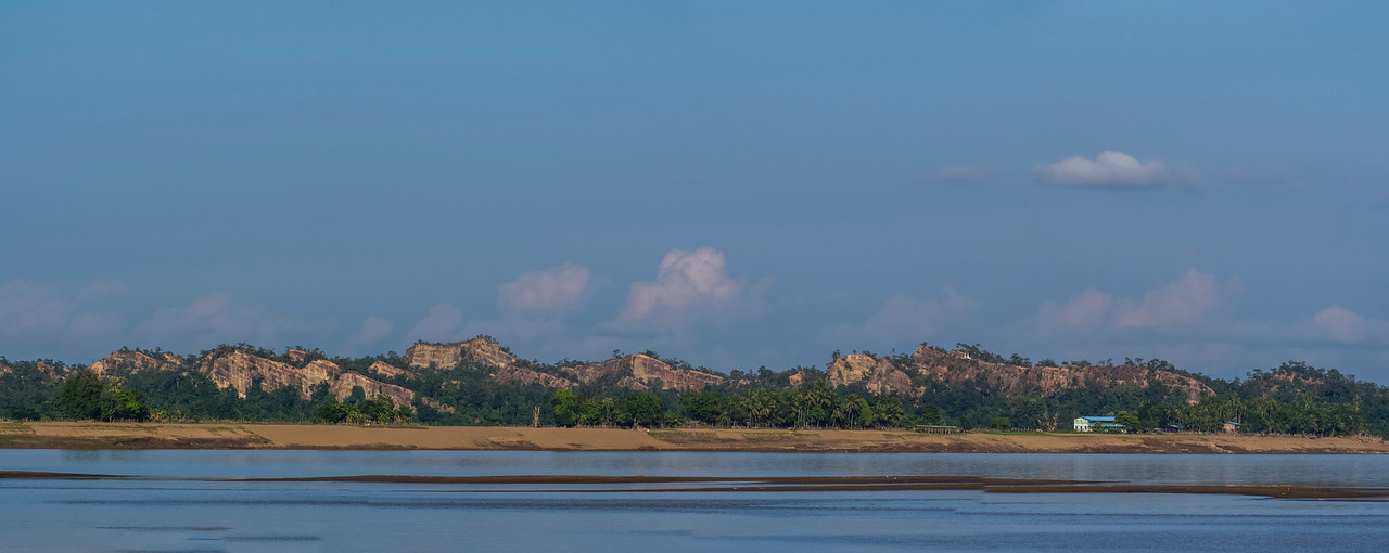 Views along the Chindwin River