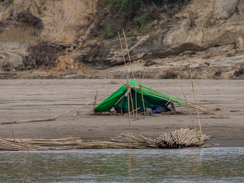 Views along the Chindwin River, Myanmar - day 5