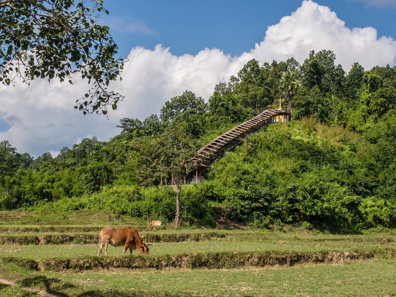 Sitthaung village, Myanmar