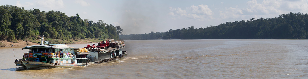 Chindwin River panorama