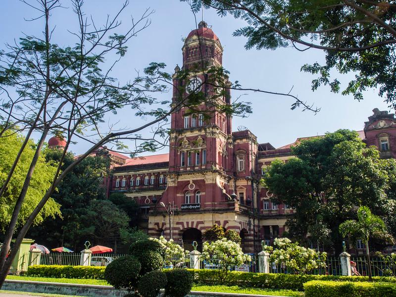 High court building, Yangon