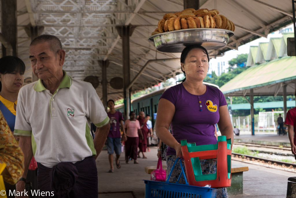 Yangon railroad station