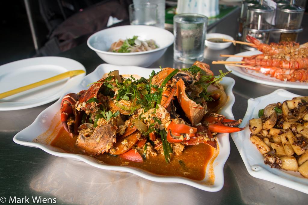 Rakhine crab curry