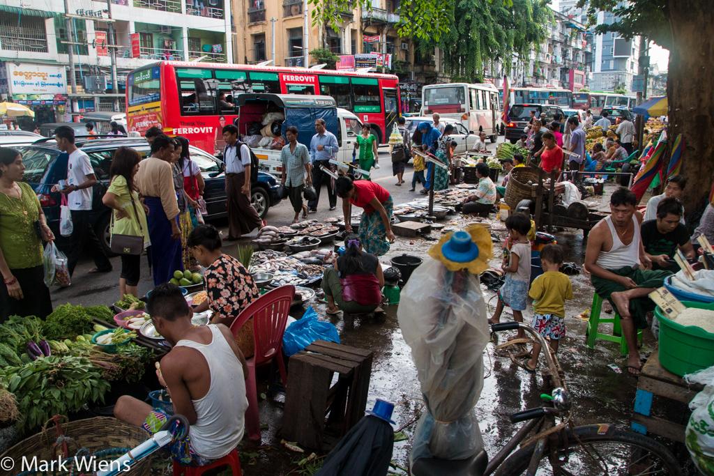 Markets in Yangon