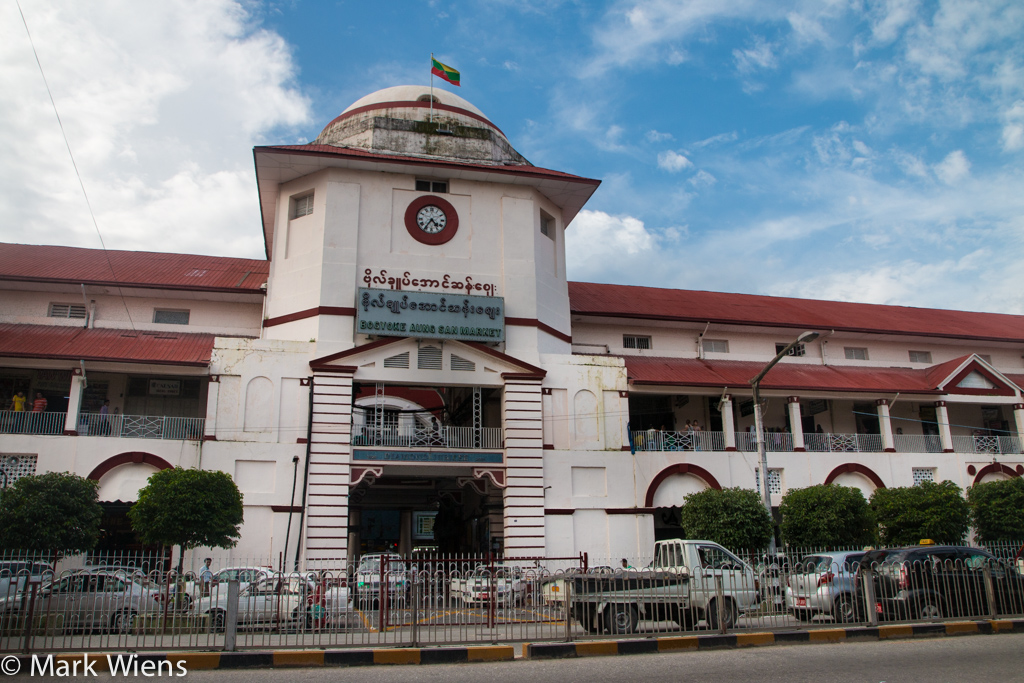 attractions in Yangon