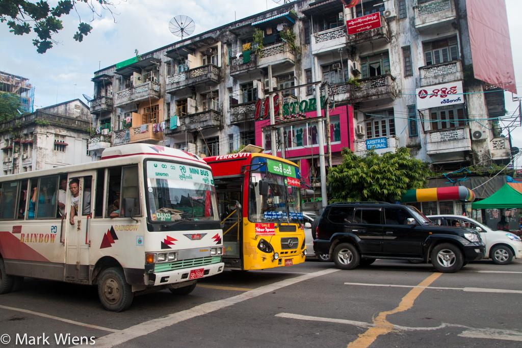 Yangon transportation