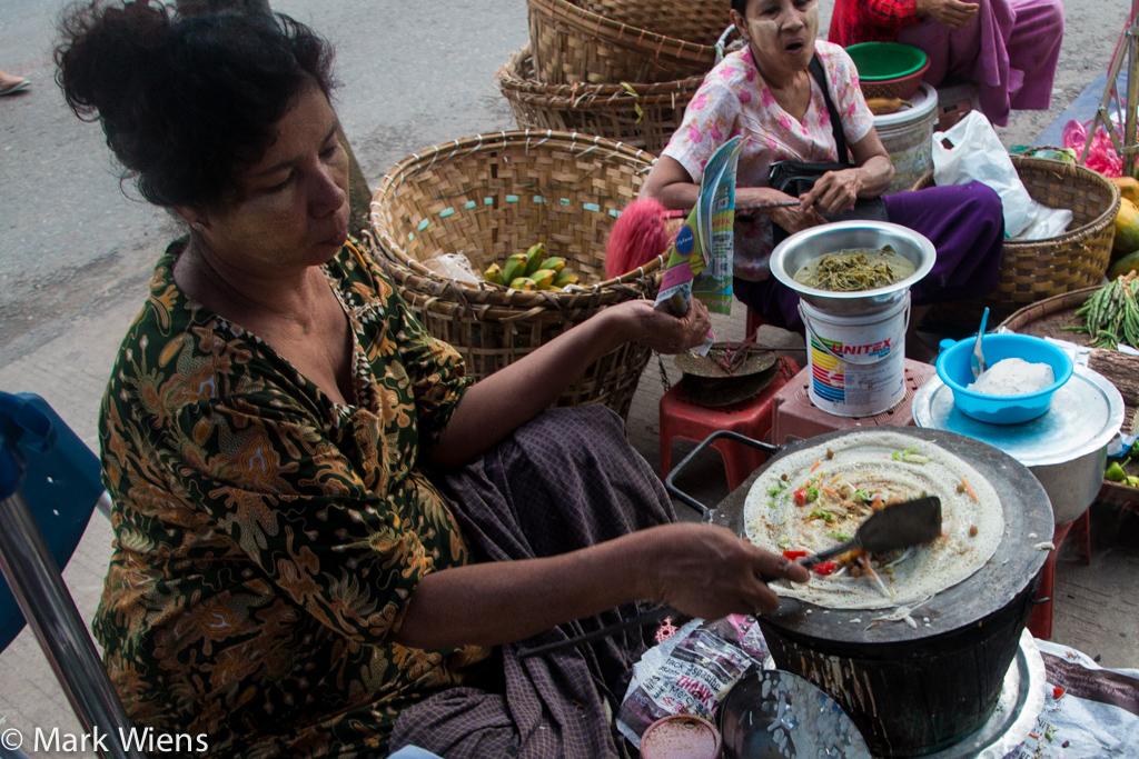 Dosa in Myanmar