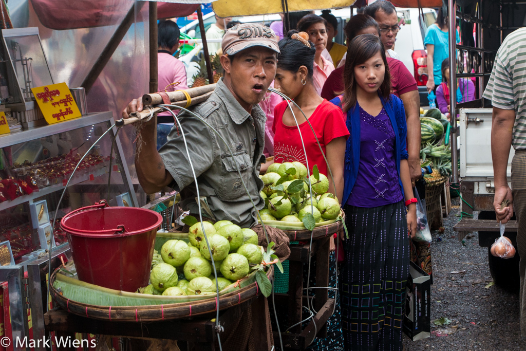 Guavas in Myanmar
